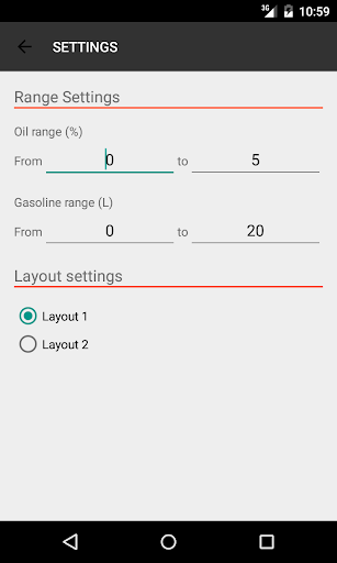Oil Mix Calc screenshot for Android