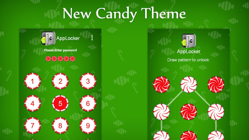 Candy Theme for Mega App Lock