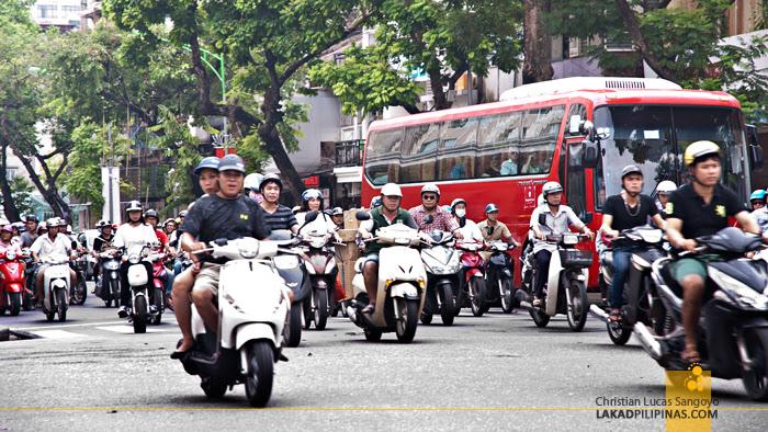 Motorcycles Hanoi Vietnam
