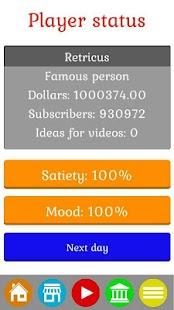 HustleTube - Vlogger Simulator - náhled