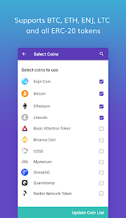 Enjin Wallet — Smart Cryptocurrency Wallet - náhled