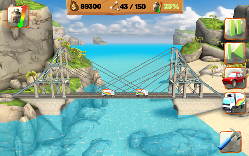 Bridge Constructor Playground FREE apkpoly screenshots 11