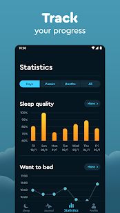 Sleep Cycle: Sleep analysis & Smart alarm clock Screenshot