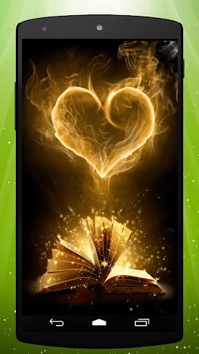 Magic Book Live Wallpaper