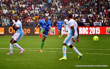 Photo: Albert Kargbo      [Leone Stars v DR Congo, 10 September 2014 (Pic © Darren McKinstry / www.johnnymckinstry.com)]