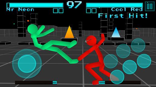 Stickman Fighting: Neon Warriors 1.05 screenshots 1