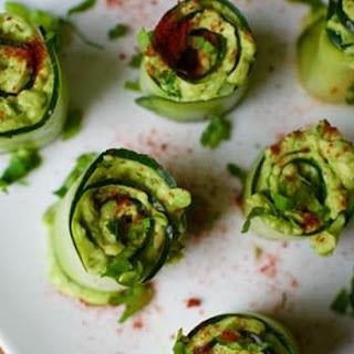 Cucumber Avocado Roll-Ups