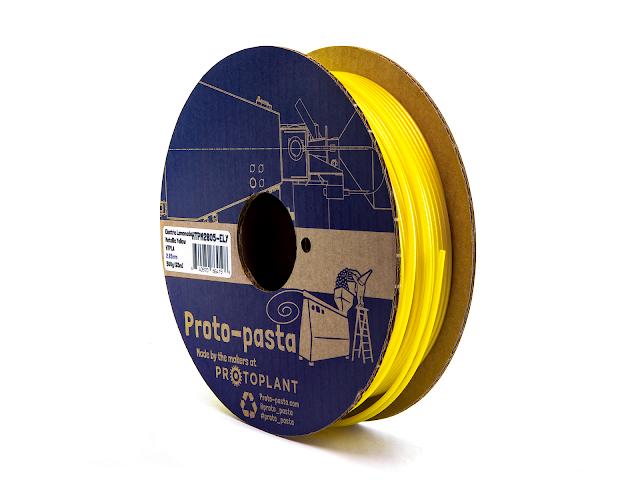 Proto-Pasta Electric Lemonade Metallic Yellow HTPLA - 1.75mm (0.5kg)