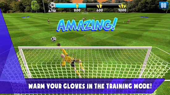 Soccer Goalkeeper 2019 - Top Career Screenshot