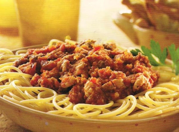 Pasta With Bolognese Sauce Recipe
