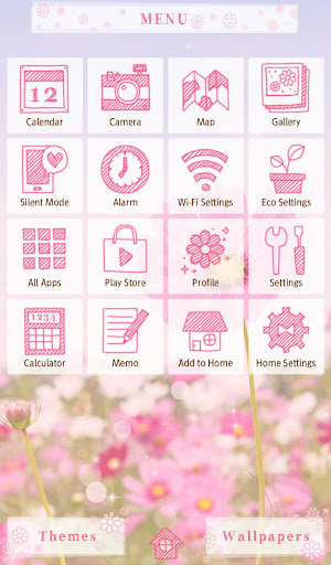 Pink Cosmos  Flower Theme 1.0.0 Windows u7528 2