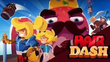 Hair Dash - Retro Battle