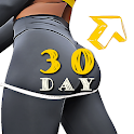 30 Day Butt & Leg Challenge women workout home icon