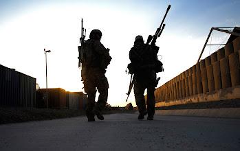 Photo: Scharfschütze in Afghanistan.©Bundeswehr/Wayman.Aufnahmedatum:01.09.2010