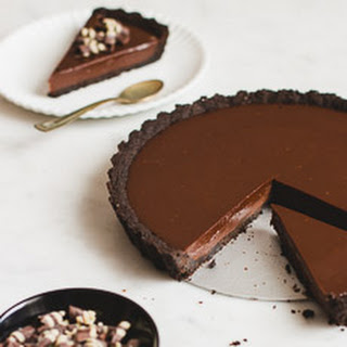 No-Bake Chocolate Tart.