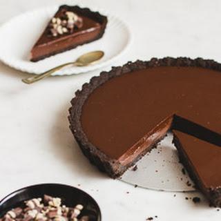 No-Bake Chocolate Tart.