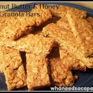 Peanut Butter & Honey granola bars.