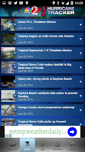 Hurricane Tracker WESH 2- screenshot thumbnail