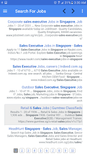 Job Vacancies In Singapore - náhled