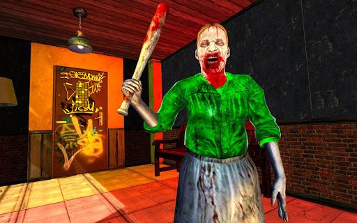 Real Scary Sponge Granny Balding Horror Branny Nun android2mod screenshots 4