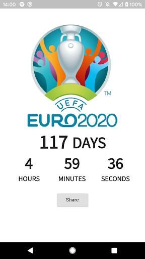 Euro 2020 Countdown screenshot 1
