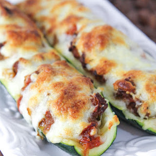 Cheesy Zucchini Boats