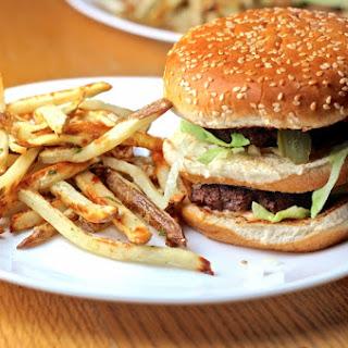 Homemade Big Mac Recipe with Frites