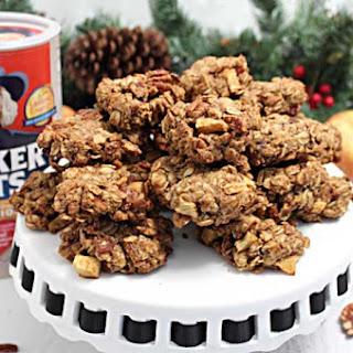 Maple Apple Oatmeal Cookies.