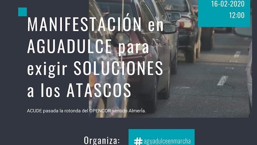 16F Manifestación por el corte de El Cañarete