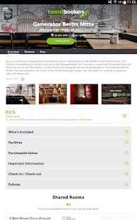 hostelbookers - Hostels- screenshot thumbnail