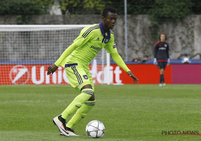Emmanuel Sowah haakte deze week geblesseerd af bij Anderlecht