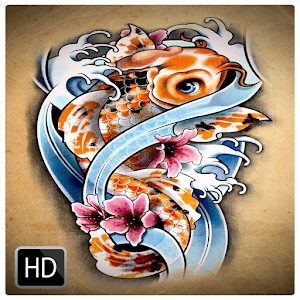 Koi fish tattoo design android apps on google play for Koi fish games