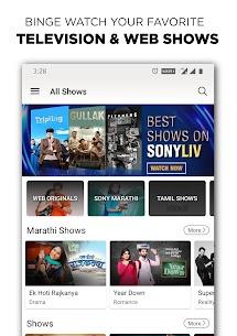SonyLIV – TV Shows, Movies & Live Sports Online Mod APK [Premium Cracked] 3
