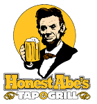 Logo for Honest Abe's Tap and Grill