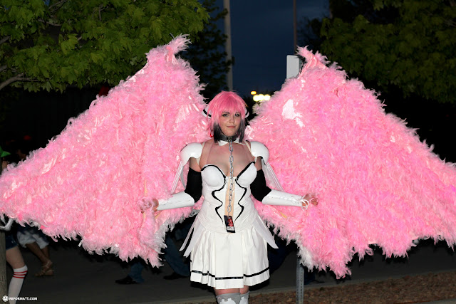 pink angel at Anime North 2014 in Mississauga, Ontario, Canada