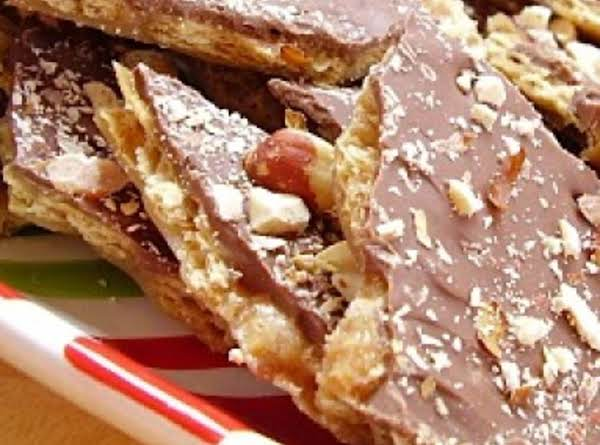 This Version Is Topped With Roasted Almonds, Tastes Very Much Like Almond Rocha!