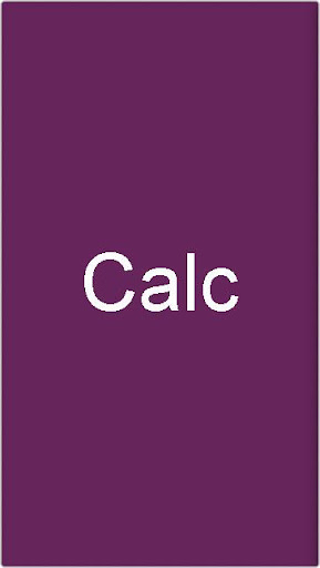 Calc The Simple Calculator