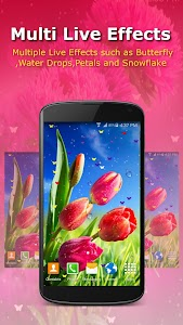 Live Wallpaper - Flowers screenshot 2
