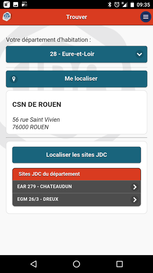 Ma JDC- screenshot