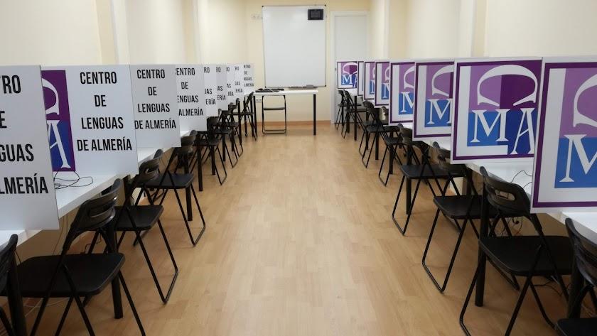 fotografía del Aula de Exámenes On line