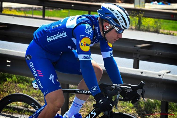 Sportdirecteur Deceuninck-Quick.Step vindt dat Remco Evenepoel al indruk heeft gemaakt