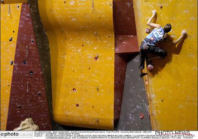 Ook op het EK muurklimmen heeft België een medaille te pakken: Chloé Caulier goed voor zilver