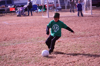 Photo: World Cup, Nov. 7--Mitchell, our sweeper.
