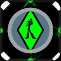 Ben Coloring 10 Heros aliens icon