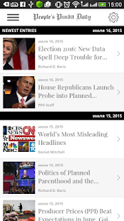 People's Pundit Daily- screenshot thumbnail