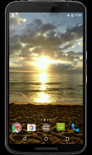 Sunset Video Live Wallpaper