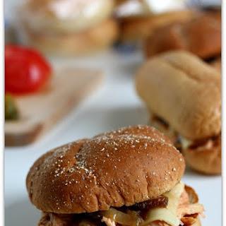 Slow Cooker Cream Cheese Chicken Sandwiches Recipe