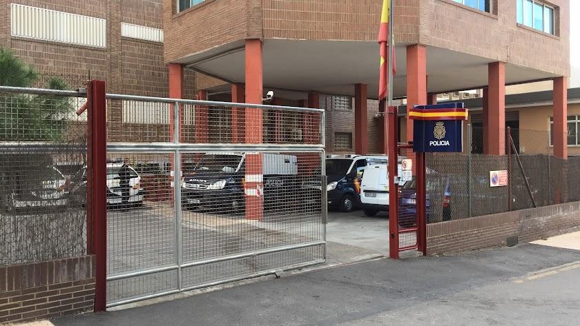 Imagen de la Comisaría Provincial de la Policía Nacional de la capital almeriense.