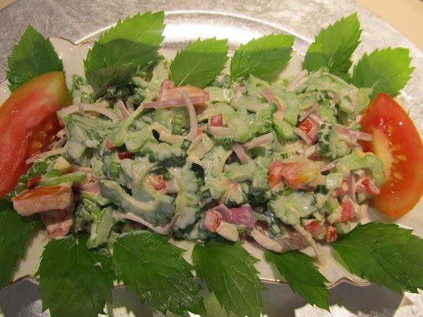 Ampalaya (bitter Gourd) Salad Recipe