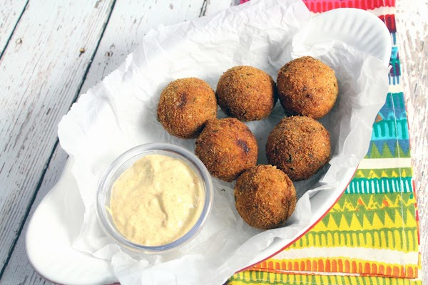 Serve the boudin balls hot or warm, with the Creole dipping sauce alongside. Hope...